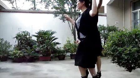 观庙广场舞--我是一片云(慢三)