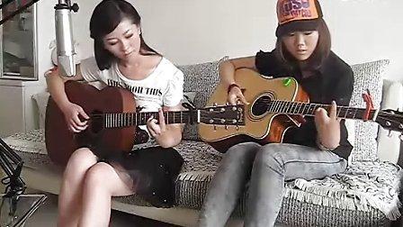 双美女吉他弹唱:笔记