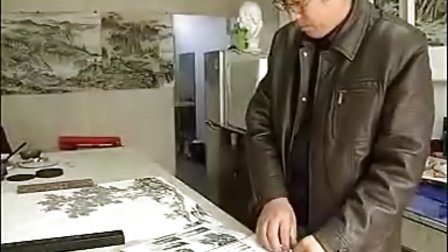 刘源国画展