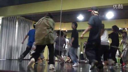 重庆街舞培训(TK)TOPKING舞蹈传媒大师授课第二弹BABY SLEEK HIPHOP课程(一)