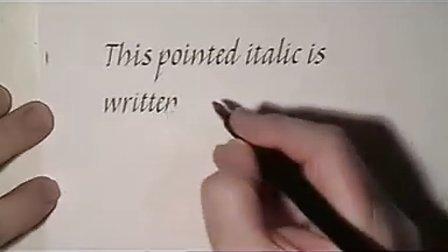 英文花体字教程13