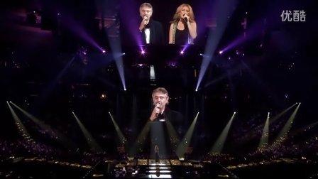 Celine Dion  Andrea Bocelli - The Prayer (Live In