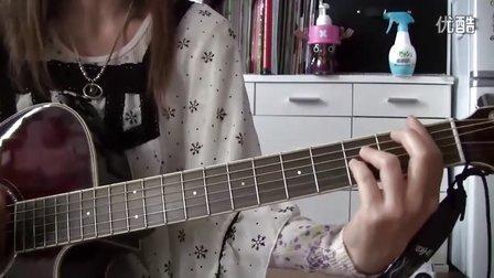 YUI cover Rain guitar chakotan24