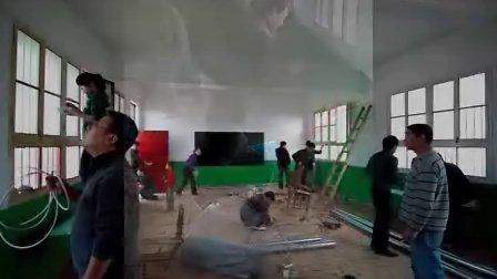 2009年修葺胡家窑小学校