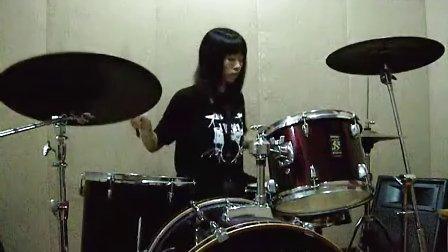 Lush - Single Girl drum cover