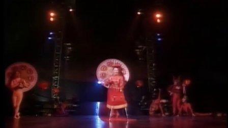 1991年中国顶尖杂技演员 加拿大国宝级太阳马戏团献艺 引起轰动 珍贵资料