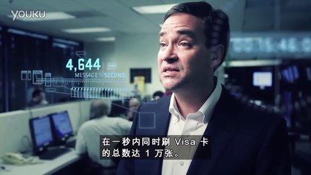 2010 年 VisaNet 交易量翻倍