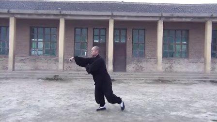 (新版)永年曲陌秘传杨班侯太极拳全套演练 永年李占英