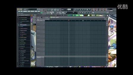 均衡的混合多个初音vocaloid声轨在FL里 编曲教程 FL教程 QQ358581529