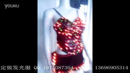 女款泳装 LED多彩跳变发光服装 独显舞台魅力