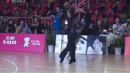 完整版职业组拉丁舞决赛桑巴(2013中顺洁柔CBDF锦标赛)