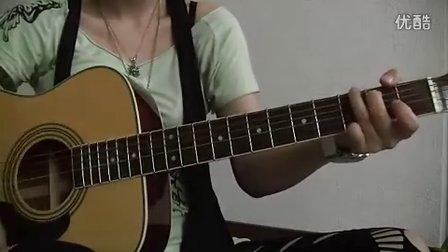 YUI cover Namidairo guitar chakotan24