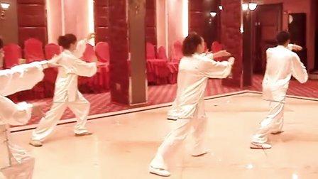 温州洞头县武术协会美女太极拳