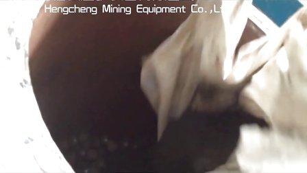 实验室用的试验选矿设备之筒形球磨机磨矿视频