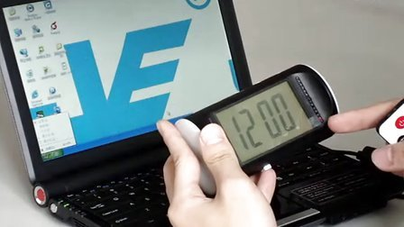 JVE-3311F-1 Alarm Clock Camera