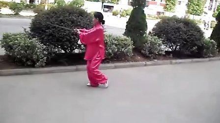 龙丹艳32式太极剑