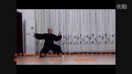 永年李占英老师  永年曲陌秘传杨班侯太极拳(2011年绝版)