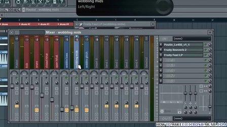 Dubstep教程 编曲教程 FL Studio教程 编曲软件QQ358581529