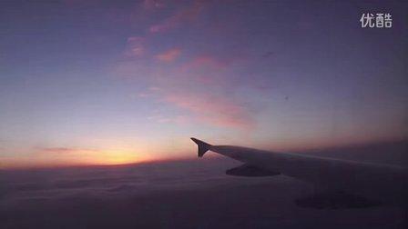 重庆机场云上天空.MOV