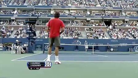 2008美国网球公开赛男单决赛  费德勒vs穆雷