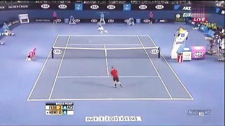 网球-费德勒职业生涯经典瞬间