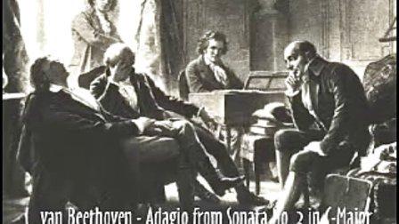 Beethoven   Adagio from Sonata No3 Anton Kuerti