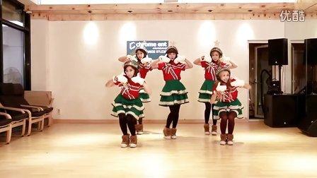 """Crayon Pop """"圣诞""""回归舞台 크레용팝 '꾸리스마스'"""