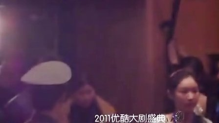 12.15优酷大剧盛典霍建华进场