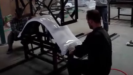 The manual forming machine for the bathtub skirt panel