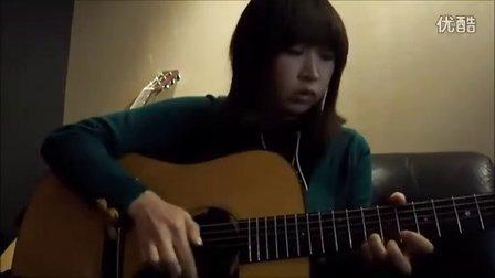 日本女生ManaT翻弹押尾Fly to the Dream (take 2)