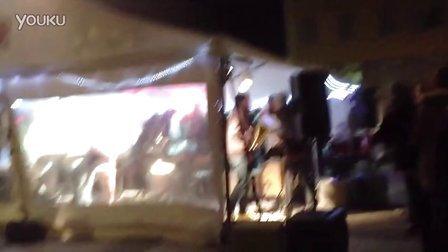 里昂灯光节2013-Cathédrale St. Jean 前跳舞
