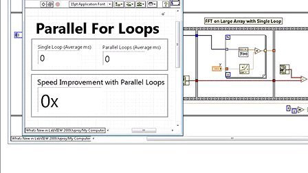What's new in LabVIEW 2009
