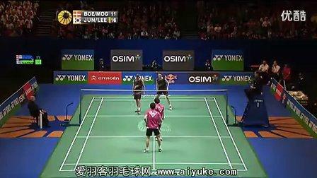 李龙大郑在成VS鲍伊摩根森 2012全英羽毛球公开赛 爱羽客羽毛球网.flv