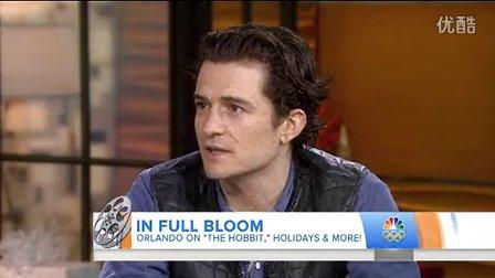 2013年12月13日Orlando Bloom做客NBC Today Show