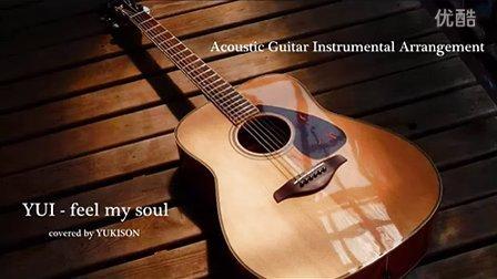 YUI cover feel my soul guitar yukisons