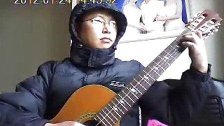 《月光》转高音版 吴强缺角吉他独奏曲