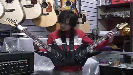 双头V字电吉他演奏《梦中婚礼》