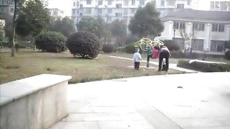 湾溇公寓公园里