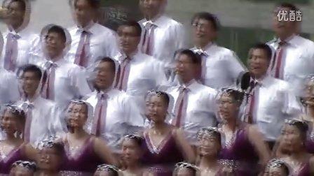 """神木七中""""五一""""歌咏比赛《让党旗更鲜艳》"""