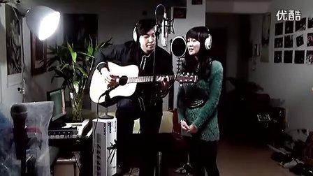 吉他弹唱吉他弹唱 因为爱情(浩涵和小小)