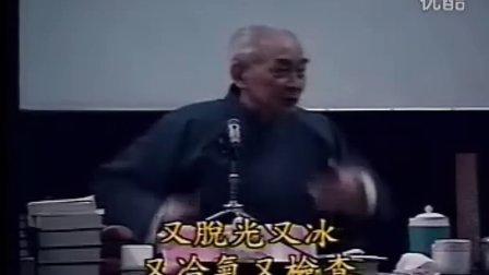 南怀瑾先生讲中西医的差别--摘自生命科學與禪修實踐研究17