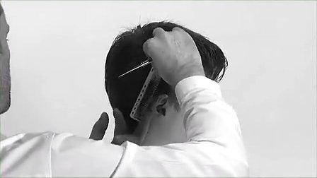 沙宣abc男发A系列盖世发型学习教程4