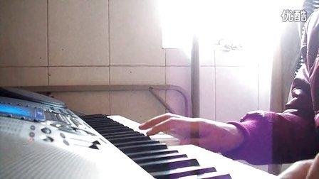 电子琴演奏 <今天是你的生日>