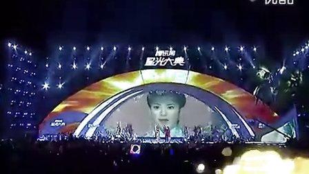 腾讯星光大典2011  张睿李晟 荧幕情侣演唱《当》