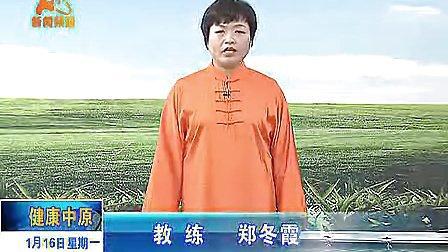 郑冬霞陈氏太极拳老架一路教学16 标清