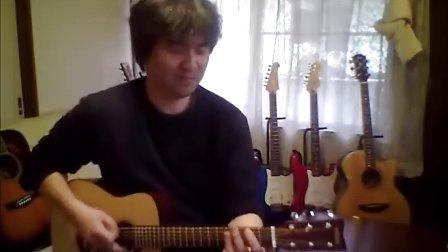 YUI cover LIFE guitar YAMAHA JR2 matsu448