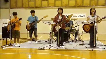 YUI cover Rolling star band DaisukeGuitar211
