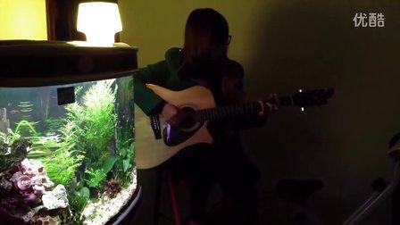 吉他弹唱《忽然之间》covered by 陈蓓蓓_uku懒懒