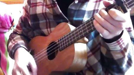 ukulele弹唱 约翰列侬《Imagine》陈蓓蓓_uku懒懒