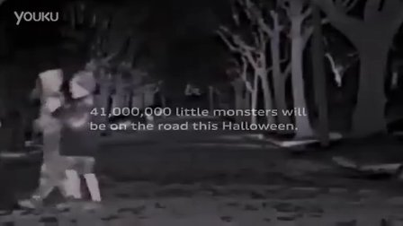 22. Audi night vision Halloween Commercial